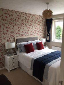 Norwich Interior Design. Showing recent bedroom design project