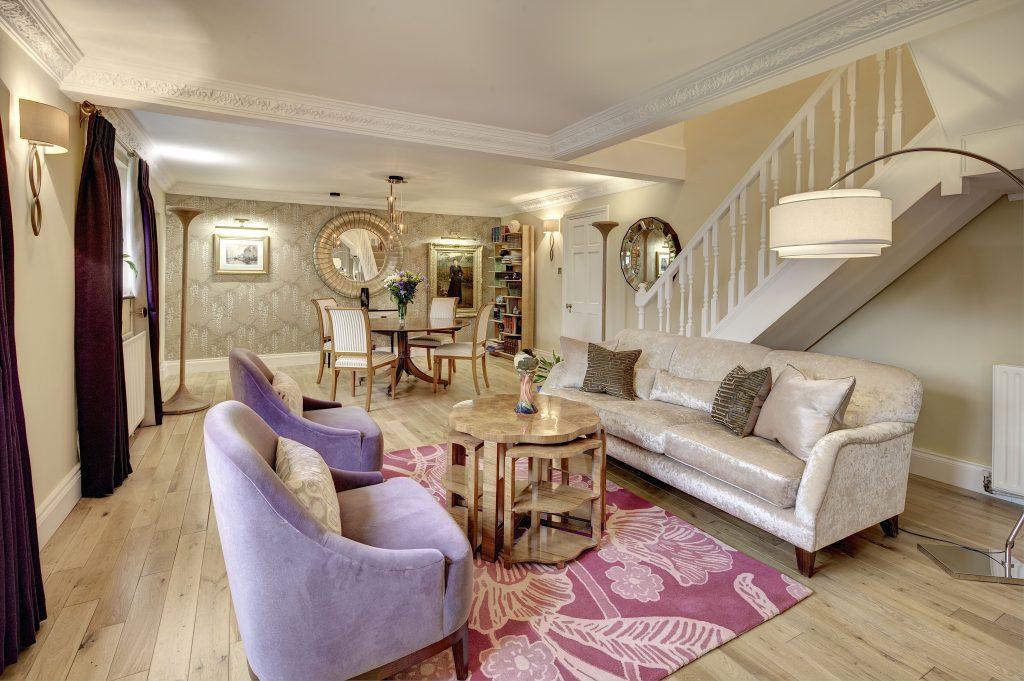 Holly Cottage Living & Dining Room Design - Chameleon Interior Design